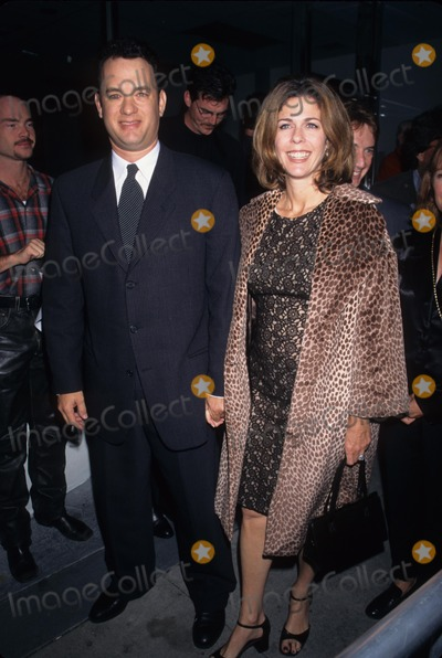 Andrea Martin Photo - Tom Hanks with Wife Rita Wilson at the Nude Nude Totally Nude Andrea Martin Show at Canon Theatre 1996 K6518lr Photo by Lisa Rose-Globe Photos Inc