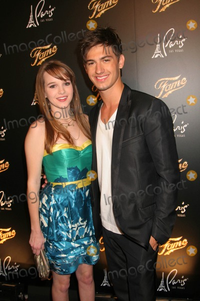 Asher Book Photo - Fame Las Vegas Premiere at the Theatre Des Arts in Side the Paris Resort Hotel and Casino in Las Vegas NV 09-24-2009 Photo by Ed Geller-Globe Photos Inc Kay Panabaker and Asher Book