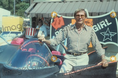 Chuck Barris Photo - Adam West with His Batmobile Car at Chuck Barris Party Supplied by Globe Photos Inc