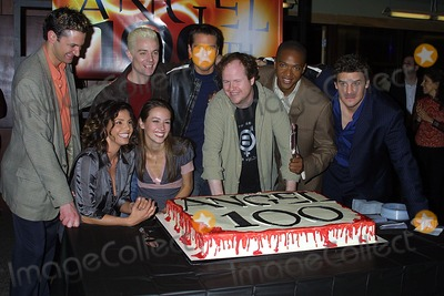 Andy Hallett Photo - Angels 100th Episode Event Paramount Studios Hollywood CA 120403 Photo Clinton H Wallace IpolGlobe Photos Inc 2003 Amy Acker Alexis Denisof J August Richard Joss Whedon David Boreanaz Andy Hallett and Charisma Carpenter
