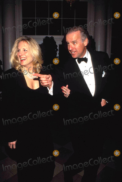 Joe Biden Photo - President Jacques Chirac State Dinner Senator Joe Biden and Wife Jill 1996 Photo by James M Kelly-Globe Photos