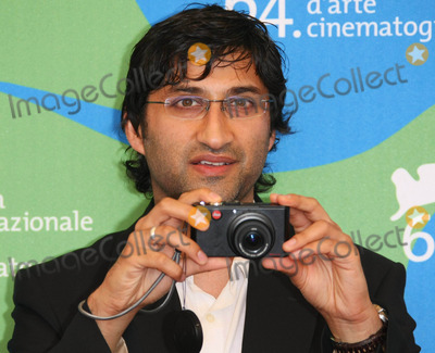 Asif Kapadia Photo - Asif Kapadia Film Director K54318 Photocall of the Movie Sleuth at 64th Venice Film Festival in Lido  Venice  Italy 08-30-2007 Photo by Graham Whitby Boot-allstar-Globe Photos Inc