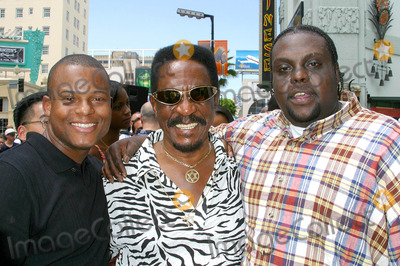 Ike Turner Photo - - Director John Singleton Honored with Star on the Hollywood Walk of Fame - Hollywood Blvd Hollywood CA - 08262003 - Photo by Clinton H Wallace  Ipol  Globe Photos Inc 2003 Jimmy Ray Ike Turner and Mike Witners