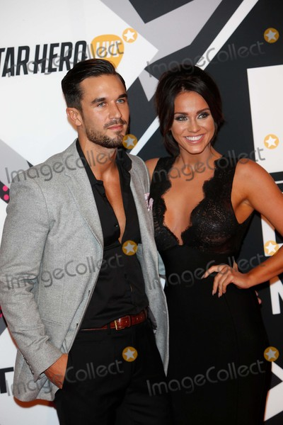 Alex Cannon Photo - Alex Cannon and Vicky Pattison Arrives at the 2015 Mtv Europe Music Awards Emas at Mediolanum Forum in Milan Italy on 25 February 2012 Photo Alec Michael