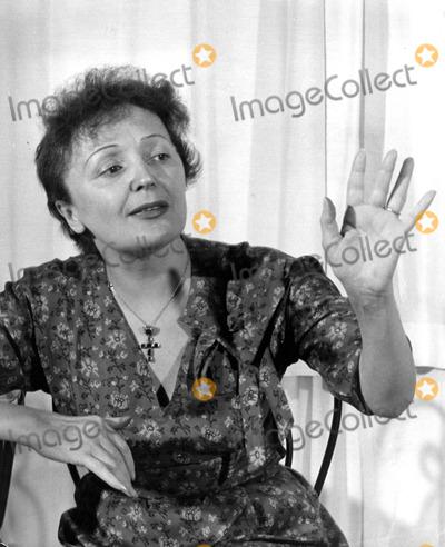 Edith Piaf Photo - Edith Piaf Photo by Bob EastGlobe Photos Inc