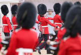 Photo - 12 June 2021 - Queen Elizabeth II during a military parade held by the Household Division in the Quadrangle of Windsor Castle to mark her Official Birthday in Windsor Berkshire For the second consecutive year The Queens Birthday Parade known as Trooping the Colour hasnt been able to go ahead in its traditional form at Buckingham Palace and Horse Guards Parade due to the ongoing COVID-19 Pandemic Photo Credit ALPRAdMedia