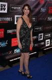 Caroline Williams Photo - 06 August 2017 - Las Vegas NV - Caroline Williams  Sharknado 5 Global Swarming red carpet premiere at Linq Hotel and Casino Photo Credit MJTAdMedia