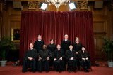 CLARENCE THOMAS Photo - Members of the Supreme Court pose for a group photo at the Supreme Court in Washington DC on April 23 2021 Seated from left Associate Justice of the Supreme Court Samuel A Alito Jr Associate Justice of the Supreme Court Clarence Thomas Chief Justice of the United States John G Roberts Jr Associate Justice of the Supreme Court Stephen G Breyer and Associate Justice of the Supreme Court Sonia Sotomayor Standing from left Associate Justice of the Supreme Court Brett Kavanaugh Associate Justice of the Supreme Court Elena Kagan Associate Justice of the Supreme Court Neil M Gorsuch and Associate Justice of the Supreme Court Amy Coney Barrett Credit Erin Schaff  Pool via CNPAdMedia