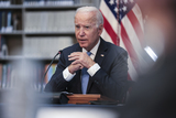 Photos From DC: President Joe Biden delivers remarks about a national security initiative