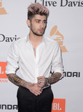 Photo - 14 February  - Beverly Hills Ca - Zayn Malik Arrivals for the 2016 Pre-GRAMMY Gala And Salute to Industry Icons Honoring Irving Azoff held at The Beverly Hilton Hotel Photo Credit Birdie ThompsonAdMedia