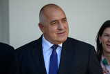 Photos From Bulgarian Prime Minister Borissov speaks to reporters while being welcomed to the White House by United states President Trump