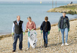 Photos From Edward, Sophie, Louise and James Wessex Great British Beach Clean in Southsea