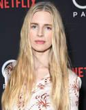 Photo - 18 March 2019 - Los Angeles California - Brit Marling Netflixs The OA Part II Los Angeles Premiere held at LACMA Photo Credit Birdie ThompsonAdMedia