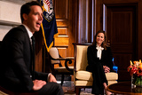 Photo - Amy Coney Barrett Capitol Hill Courtesy Call Josh Hawley