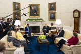 Photo - Biden Meets with a Bipartisan Group of Members of Congress on Infrastructure