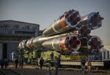 Photo - Expedition 65 Soyuz Rollout