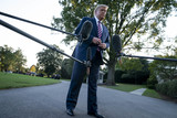 Photos From President Donald Trump Departs White House for Pennsylvania Rally