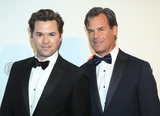 Andrew Rannells Photo - 09 February 2020 - West Hollywood California - Tuc Watkins Andrew Rannells 28th Annual Elton John Academy Awards Viewing Party held at West Hollywood Park Photo Credit FSAdMedia