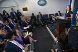 Photos From Press Secretary Jen Psaki Delivers Press Briefing