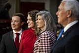 Photos From 2021 US Senate Mock Swearing In Ceremony