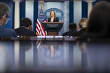 Photos From Jen Psaki Holds Daily News Conference