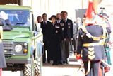 Peter Phillips Photo - Photo Must Be Credited Alpha Press 073074 17042021Princess Anne Princess Royal Prince Edward Earl of Wessex Peter Phillips Prince Harry Duke of Sussex Earl of Snowdon David Armstrong-Jones and Vice-Admiral Sir Timothy Laurence follow Prince Philip Duke of Edinburghs coffin on a modified Jaguar Land Rover during the Ceremonial Procession during the funeral of Prince Philip Duke of Edinburgh at St Georges Chapel in Windsor Castle in Windsor Berkshire No UK Rights Until 28 Days from Picture Shot Date AdMedia