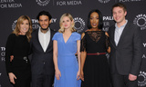 Ana Mulvoy-Ten Photo - 01 March 2017 - Beverly Hills California - Felicity Huffman Richard Cabral Ana Mulvoy-Ten Mickaelle X Bizet Micahel McDonald Season Three Premiere of ABCs American Crime held at The Paley Center for Media Photo Credit Birdie ThompsonAdMedia
