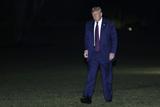 Photos From President Donald Trump Returns from Philadelphia - Washington