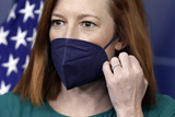 Photos From Jen Psaki Daily Press Briefing