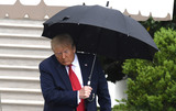 Photos From Trump Departs for Tulsa, Oklahoma