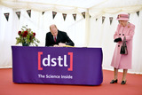 Photo - The Queen and Prince William Visit Defence Science and Technology Laboratory at Porton Down