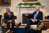 Photos From Joe Biden meets with King Abdullah II - Washington
