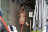 Photos From Frenchy Morgan spotted getting Ice Cream in Malibu