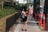 Photos From Erika Jordan takes a fall while walking in Hollywood
