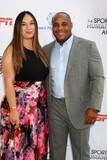 Photo - Salina Deleon Daniel Cormierat the 4th Annual Sports Humanitarian Awards The Novo Los Angeles CA 07-17-18