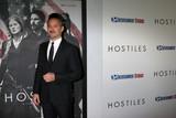 Photo - Scott Cooperat the Hostiles Premiere Samuel Goldwyn Theater Beverly Hills CA 12-14-17