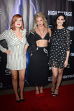 Allie Gonino Photo - LOS ANGELES - OCT 16  Grace Bannon Allie Gonino Chloe Catherine Kim at the High Voltage Los Angeles Red Carpet Premiere at the TCL Chinese 6 Theater on October 16 2018 in Los Angeles CA