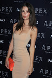 Photos From Emily Ratajkowski at the opening of Apex Social Club