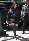 Photos From Kim Kardashian and North West are seen in New York City