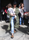 Photos From Chrissy Teigen with her kids at The Farmers Market in Studio City, CA