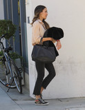 Photos From Jordana Brewster is seen in Los Angeles