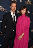 Photo - Photo by KGC-03starmaxinccomSTAR MAX2016ALL RIGHTS RESERVEDTelephoneFax (212) 995-1196102416Benedict Cumberbatch and Sophie Hunter at the premiere of Doctor Strange(London England)