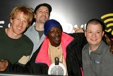 Opie and Anthony Photo - Flava Flav with Opie Hughes Anthony Cumia and Jim Norton on Xm Satellite Radios Opie and Anthony at Xms Studios in New York City on 02-10-2005 Photo by Henry McgeeGlobe Photos Inc 2005