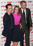 Amy Huberman Photo - Mar 13 2014 - London England UK - Gala-Screening of Stag at Vue West End in Leicester Square Pictured Andrew Scott Amy Huberman and Peter McDonald