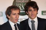 Alain Prost Photo - Jan 29 2014 - London England UK - Motor Sport Hall of Fame Royal Opera House LondonPictured Alain Prost and son Nicolas Prost