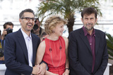 Nanni Moretti Photo - CANNES 16 MAY Actor John Turturro actress Margherita Buy and director Nanni Moretti attend a photocall for Mia Madre (My Mother) during the 68th annual Cannes Film Festival on May 16 2015 in Cannes France(Photo by Laurent KoffelImageCollectcom)