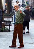 Photos From Woody Allen on set