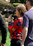 Photo - Lena Dunham on set