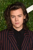 Photo - Harry Styles arrives for British Fashion Awards 2014 at the London Coliseum Covent Garden London 01122014 Picture by Steve Vas  Featureflash