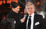 Lionel Blair Photo - Emma Willis Lionel Blair at Celebrity Big Brother 2014 - Contestants Enter The House Borehamwood 03012014 Picture by Henry Harris  Featureflash